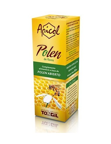 Apicol polen Tongil 60 ml.