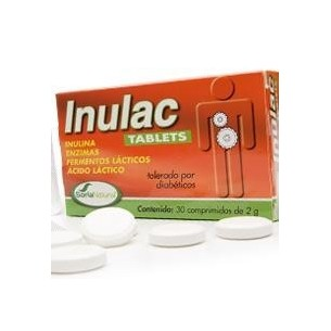 INULAC TABLETS 30 comprimidos SORIA NATURAL