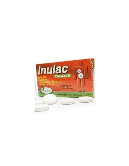 INULAC TABLETS 30 comprimidos SORIA NATURAL