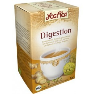 YOGI TEA DIGESTION INFUSION 15 bolsas. BIO