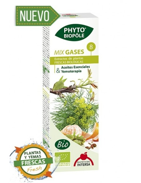 PHYTO-BIOPOLE MIX GASES 8 INTERSA  50 ml.