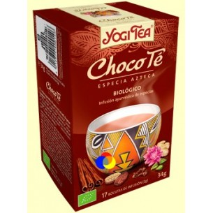 YOGUI TEA 17 bolsitas CHOCOLATE BIOLOGICO