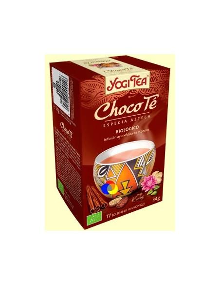 YOGUI TEA CHOCOLATE BIOLOGICO 17 bolsitas