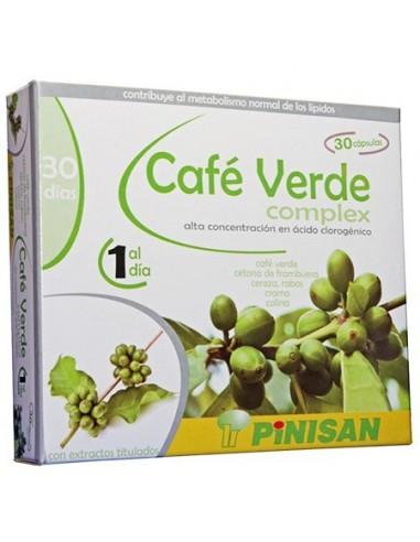 CAFÉ VERDE COMPLEX 30 cápsulas PINISAN