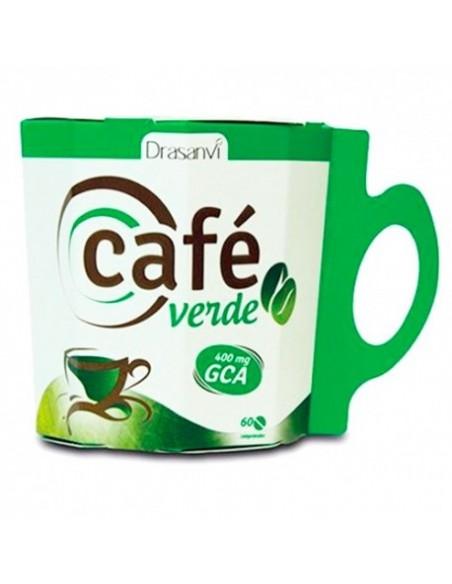 CAFÉ VERDE GREEN COFFEE DRASANVI 60 cápsulas
