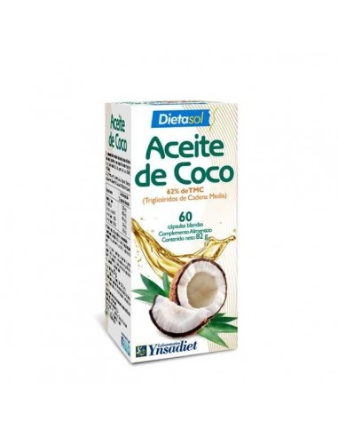 ACEITE DE COCO 60 cápsulas YNSADIET