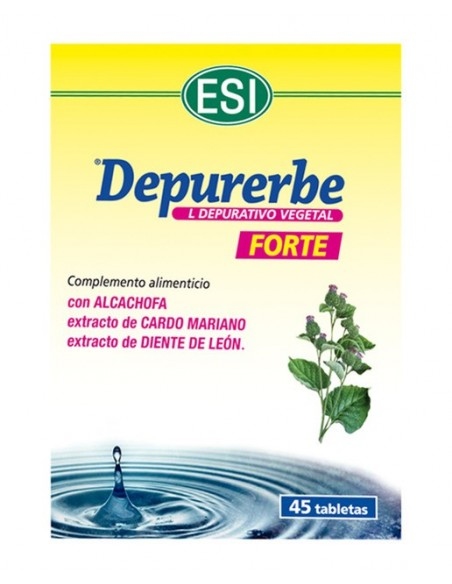 DEPURERBE FORTE ESI 45 comprimidos