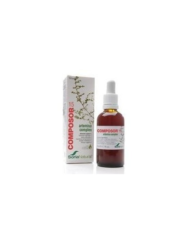 COMPOSOR 15-ARTEMISA COMPLEX 50 ml. SORIA NATURAL