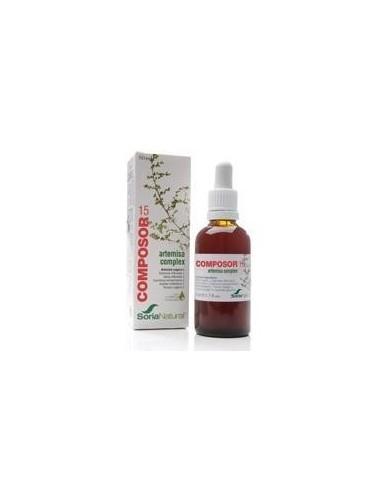 COMPOSOR 15-ARTEMISA COMPLEX 50 ml. SORIA NATURAL