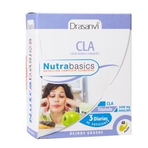 CLA NUTRABASICS DRASANVI 48 perlas