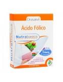 ÁCIDO FÓLICO NUTRABASICS 30 cápsulas DRASANVI