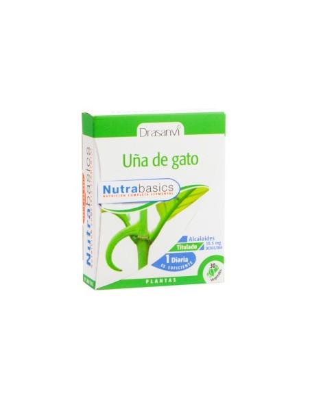 UÑA DE GATO NUTRABASICS 30 cápsulas DRASANVI