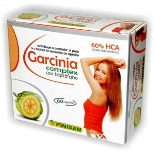 GARCINIA COMPLEX CON TRIPTÓFANO 60 cápsulas PINISAN