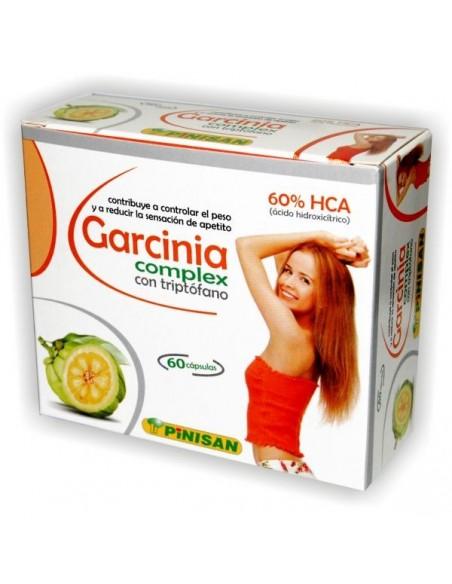 GARCINIA COMPLEX CON TRIPTÓFANO PINISAN 60 cápsulas