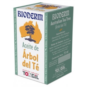 BIODERM TEA TREE ÁRBOL DEL TÉ TONGIL 15 ml.