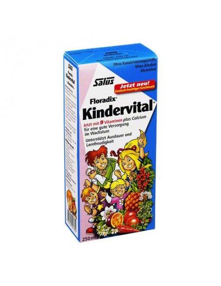 FLORADIX KINDERVITAL SALUS 250 ml. VITAMINAS PARA LOS NIÑOS HERBOLARIOS NATURA