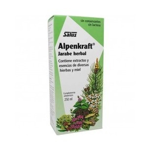 ALPENKRAFT JARABE HERBAL SALUS 250 ml.