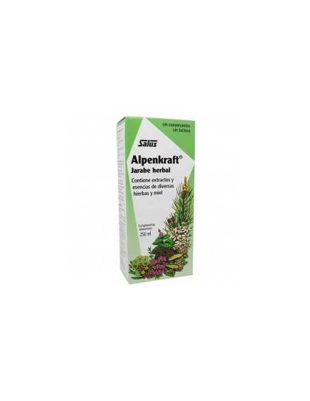 ALPENKRAFT JARABE HERBAL SALUS 250 ml.