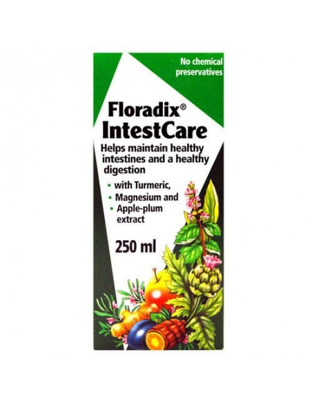 INTESTCARE FÓRMULA HERBAL SALUS 250 ml.