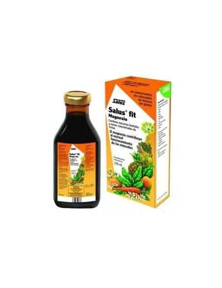 SALUS FIT MAGNESIO 250 ml. RELAJANTE MUSCULAR NATURAL HERBOLARIOS NATURA