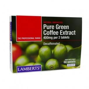 EXTRACTO DE CAFÉ VERDE PURO LAMBERTS 60 tabletas