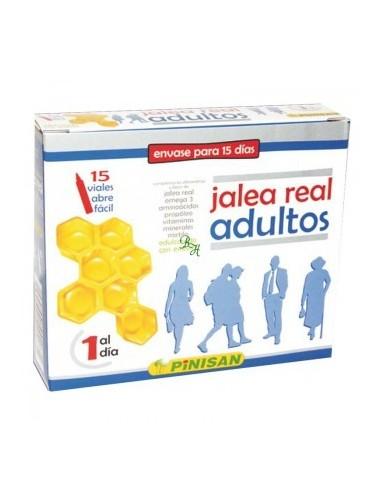 JALEA REAL ADULTOS PINISAN 15 viales abre fácil