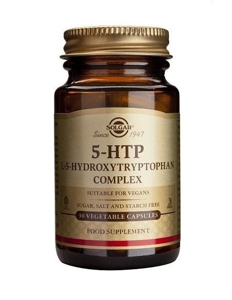 5-HTP HIDROXITRIPTÓFANO COMPLEX SOLGAR 30 cápsulas