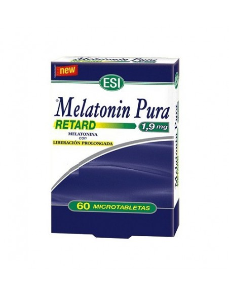 MELATONIN PURA RETARD ESI 60 microtabletas